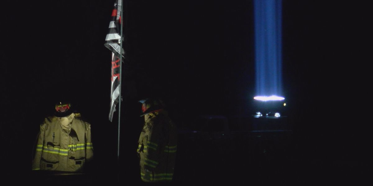 Heartland business owner lights up sky in Perry Co. for 9/11