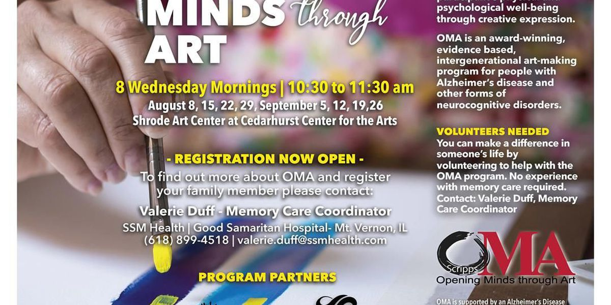 Opening Minds through Art program for those with neurocognitive disorders