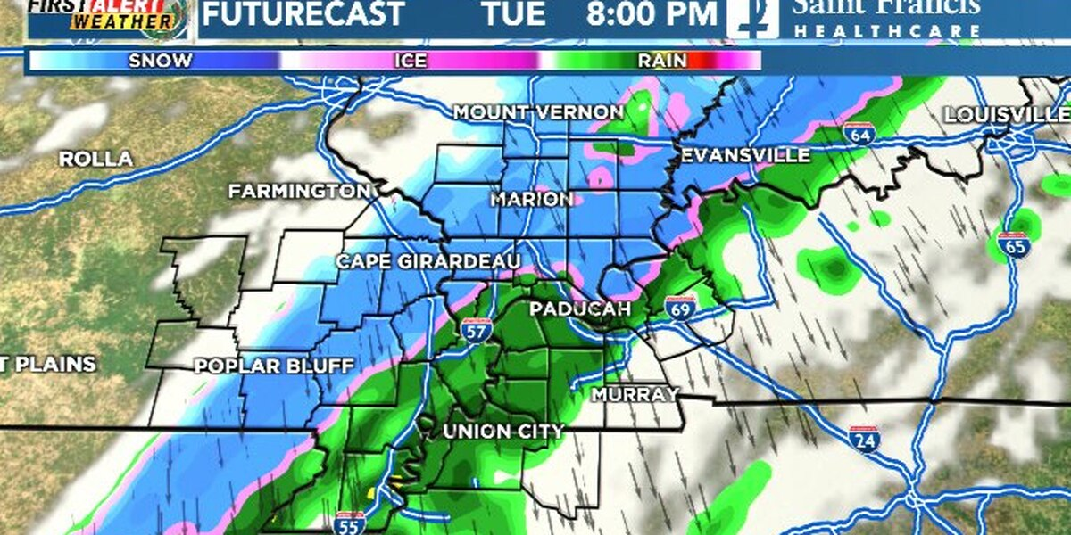 First Alert: Cold front to bring rain, snow