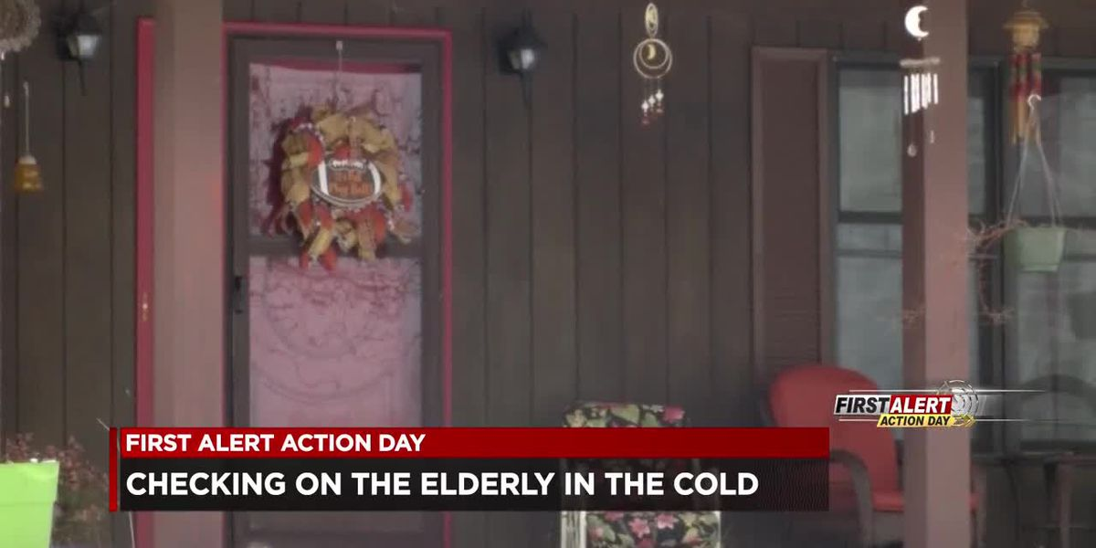 Checking on your elderly neighbors during winter weather