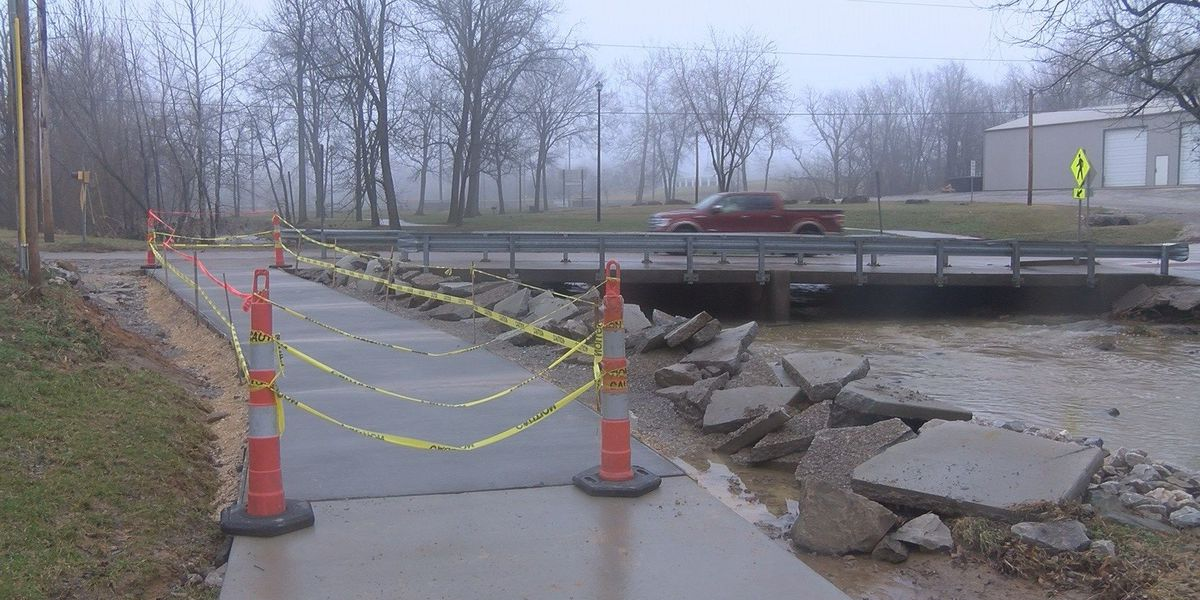 Walking trail in Jackson, MO repaired after flooding