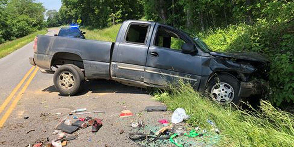 19-year-old injured in one vehicle crash