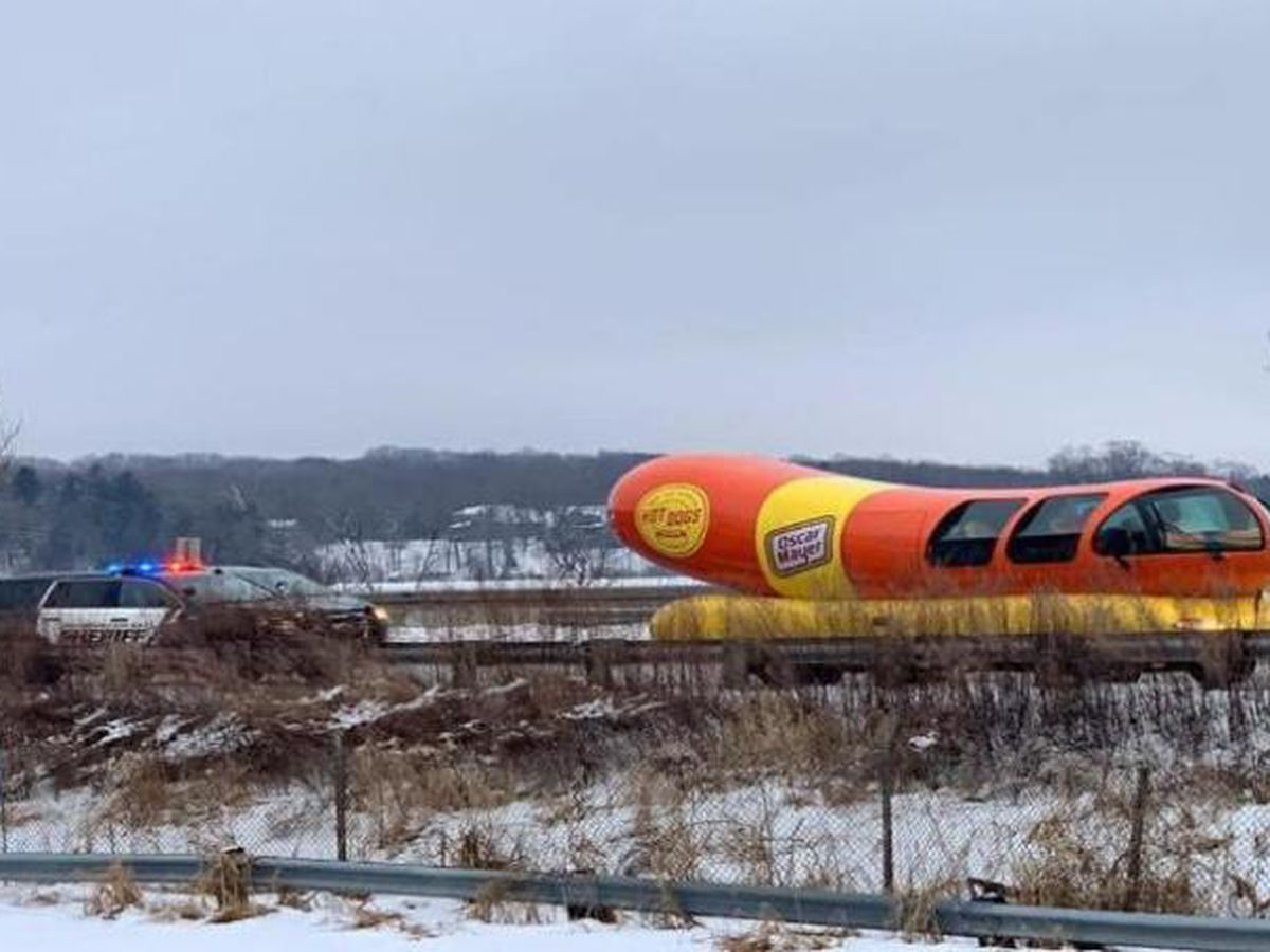 Weinermobile runs afoul of the law in Wisconsin