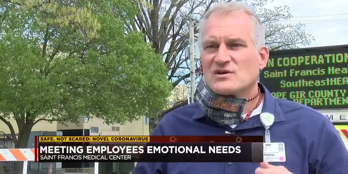 Saint Francis meeting employees' emotional needs