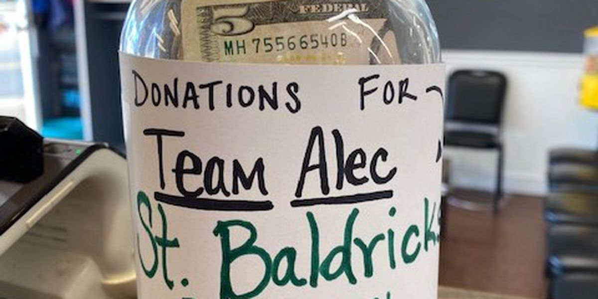 Donation jar for St. Baldrick's reported stolen from Cape Girardeau business