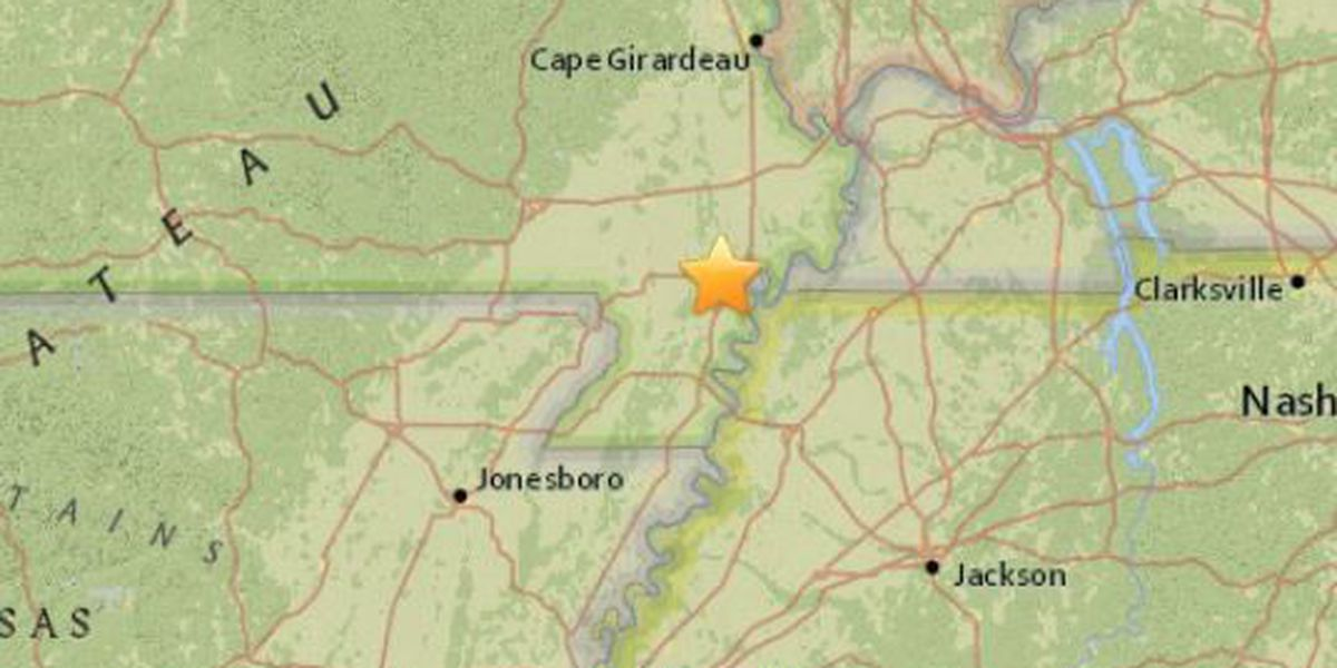 Earthquake shakes Marston, MO