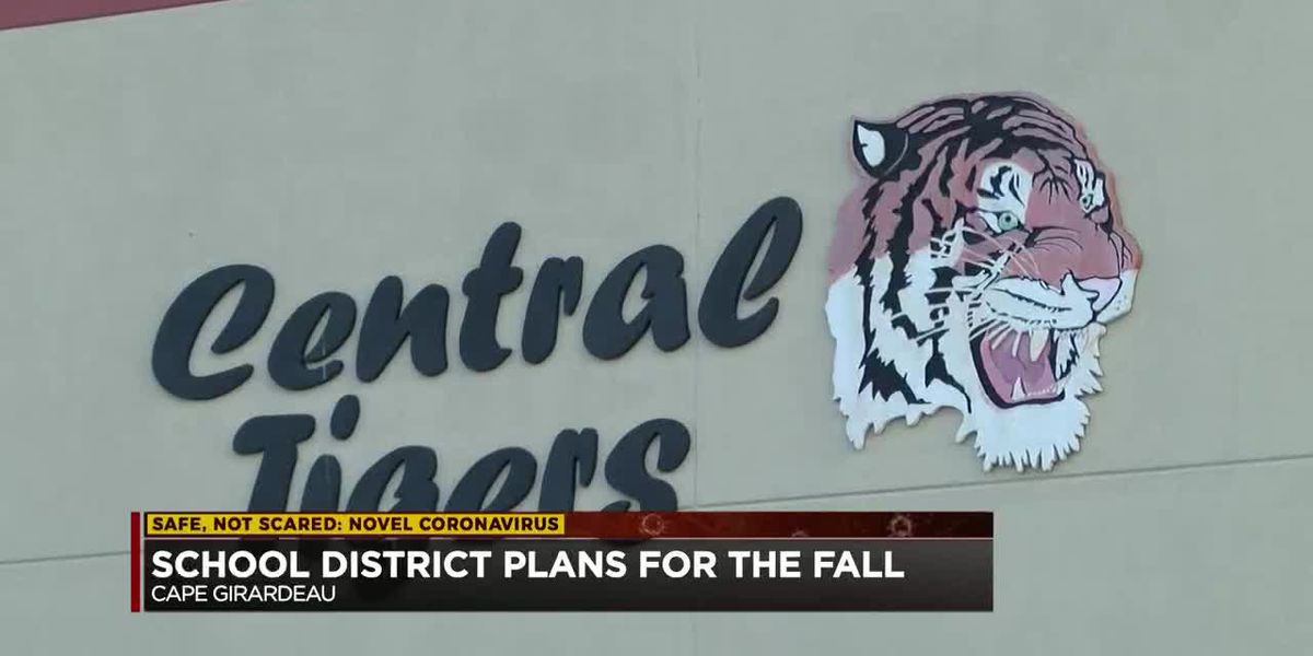 Cape Girardeau Public Schools re-entry plan for fall 2020 includes online, in-person learning
