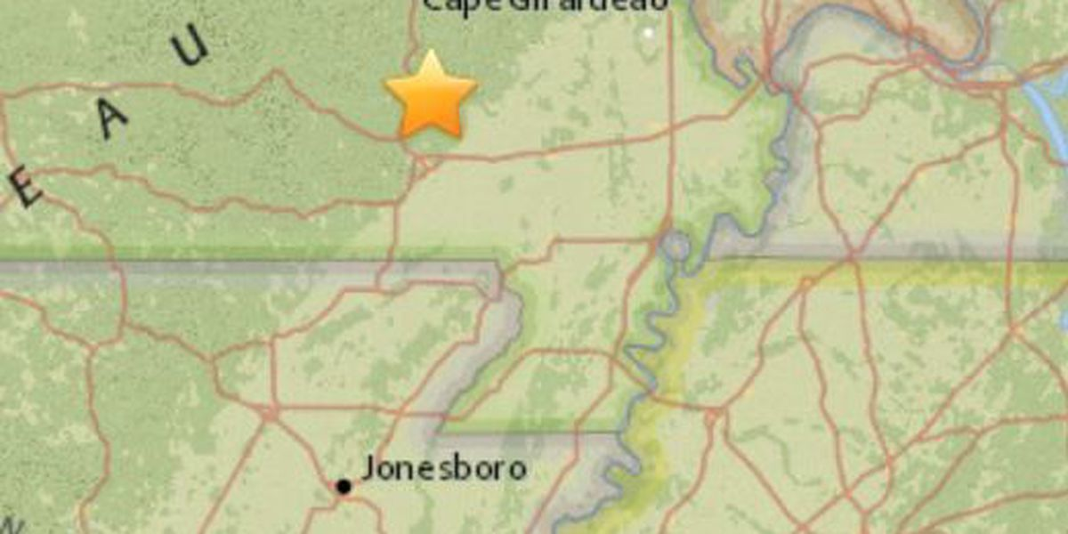 Magnitude 2.6 quake shakes an area of the Heartland