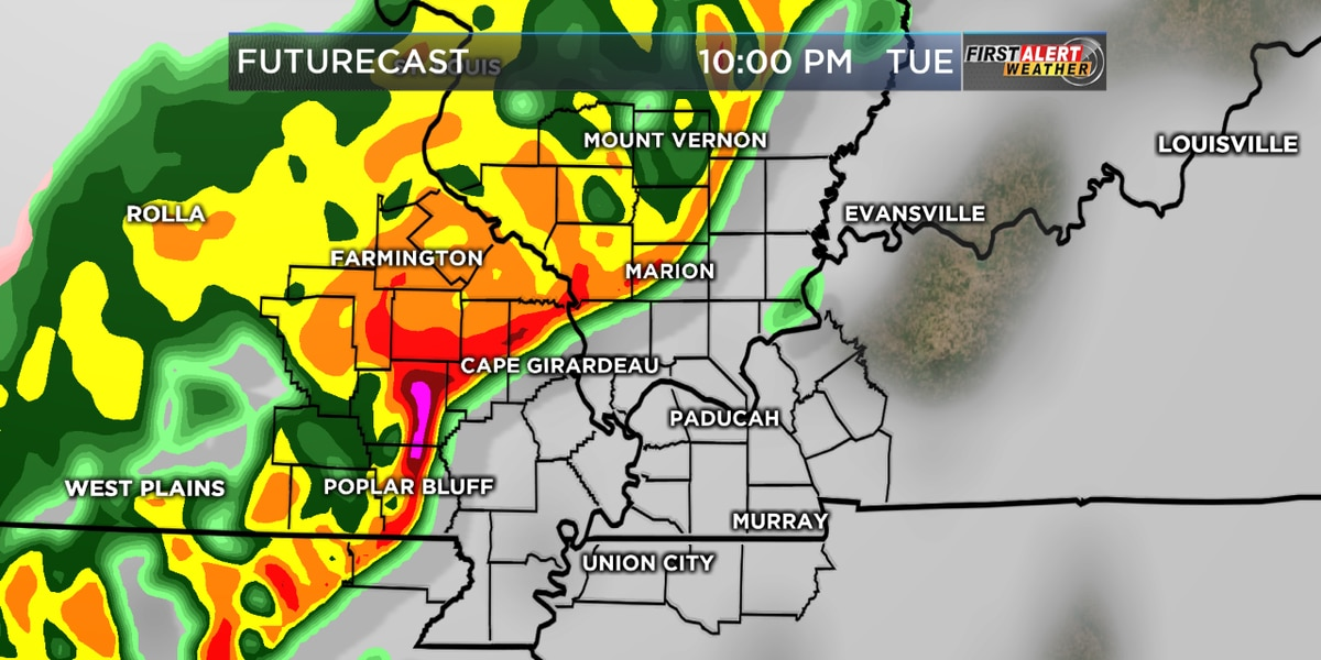 First Alert: Showers and Thunderstorms bringing cold air