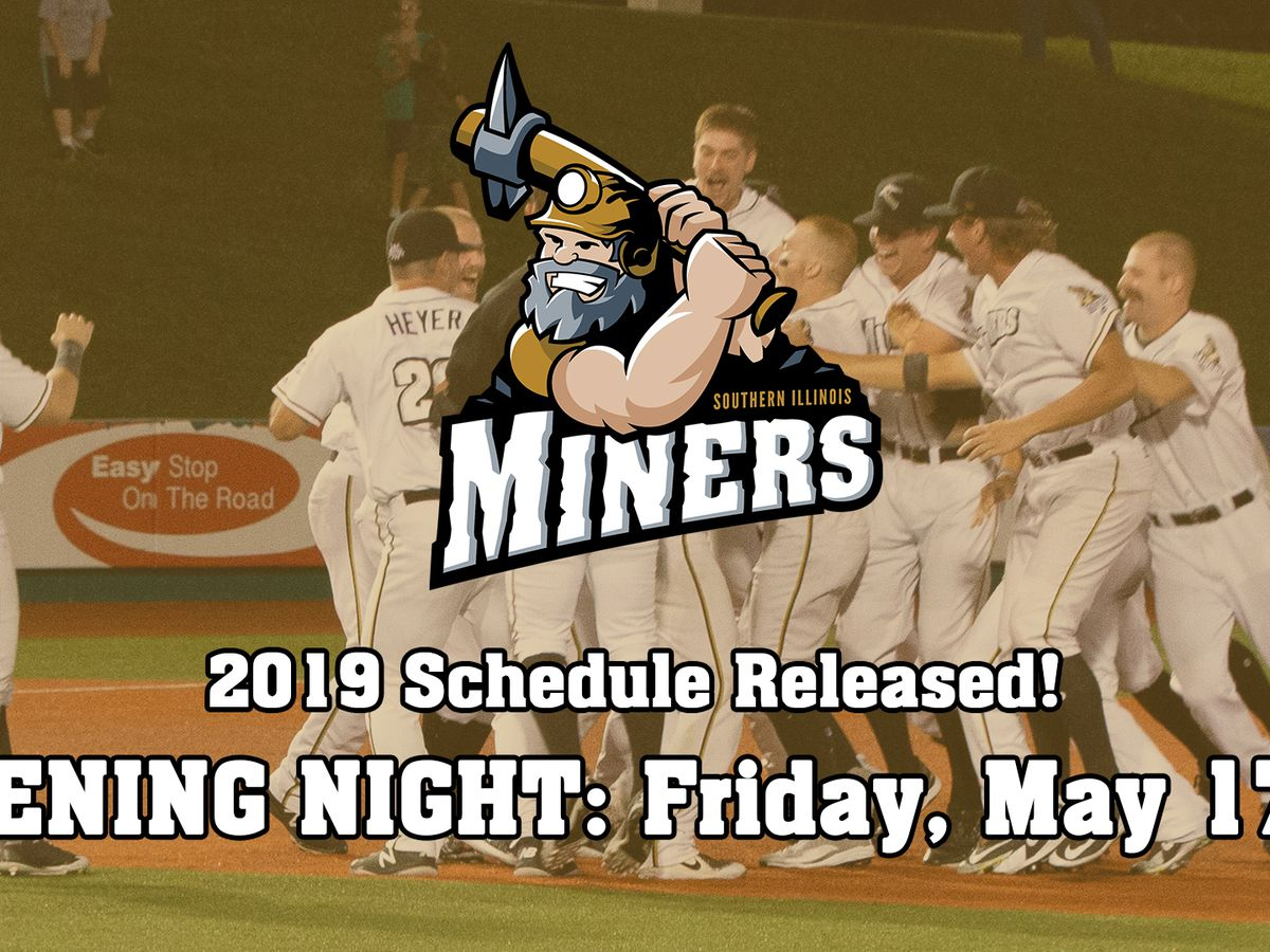S. IL Miners announce 2019 baseball schedule