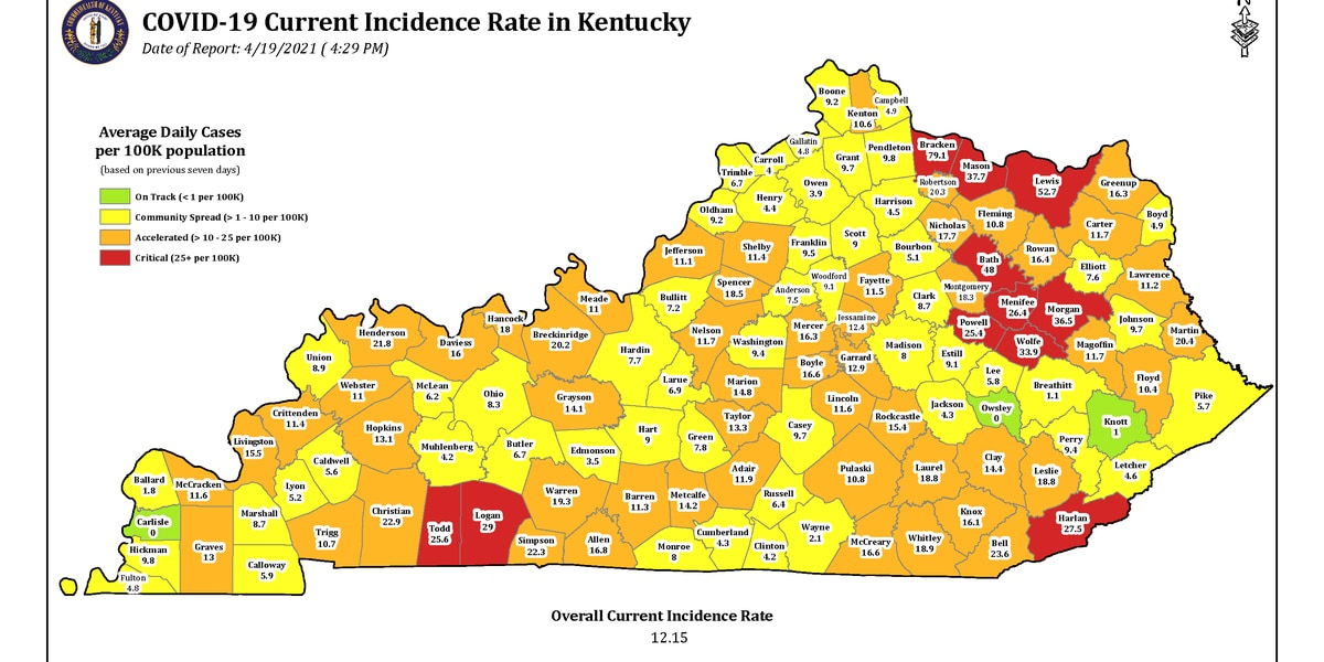 Gov. Beshear updates requirements for events, businesses
