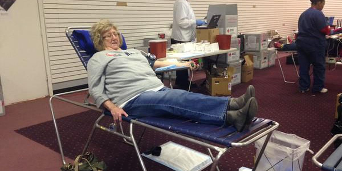 1067 units of blood collected in Heartland Blood Drive