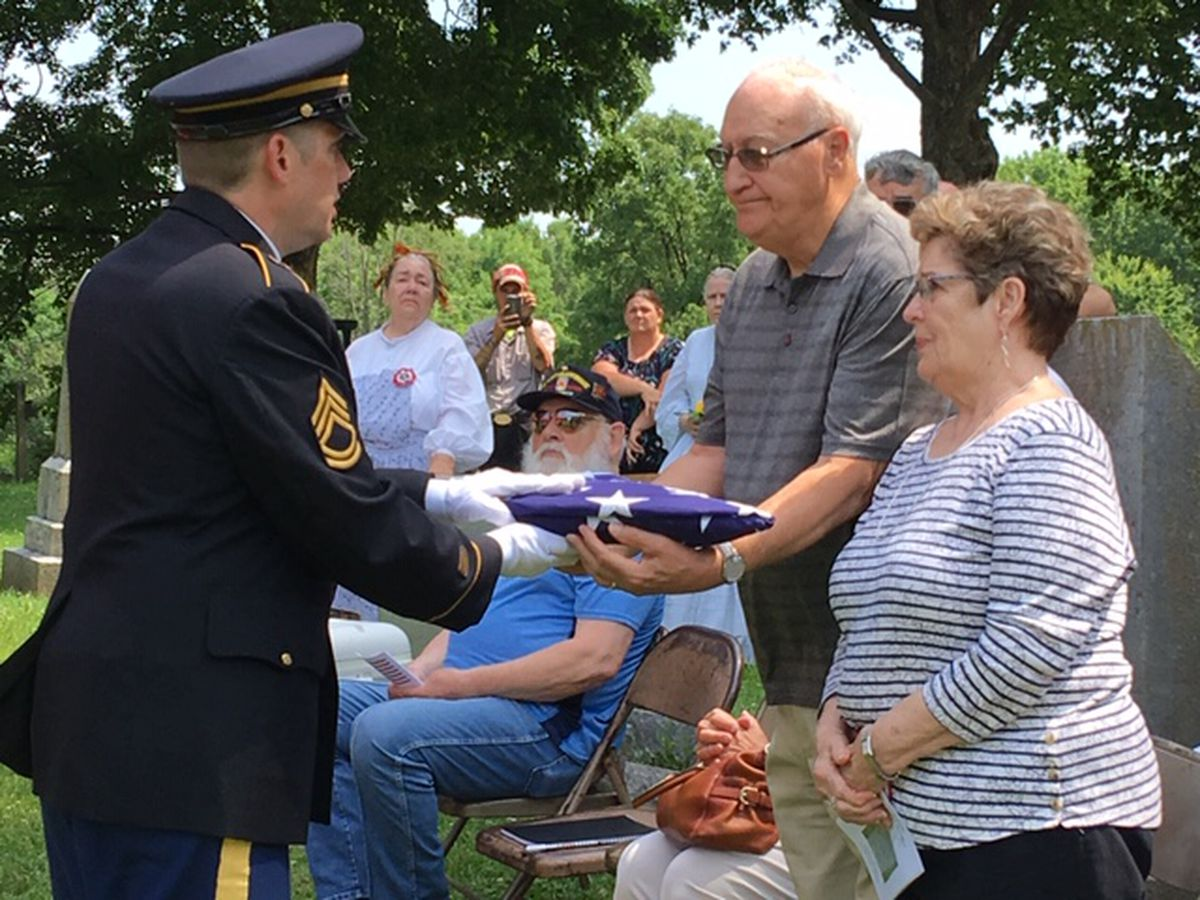 Family, friends remember local Civil War soldier