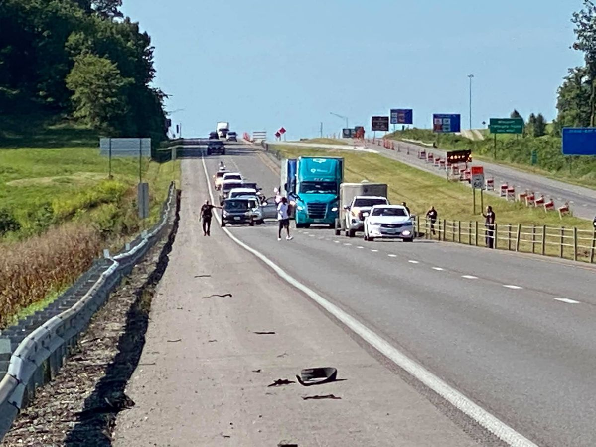 Man taken into custody after incident on I-55 near the 98 mile marker