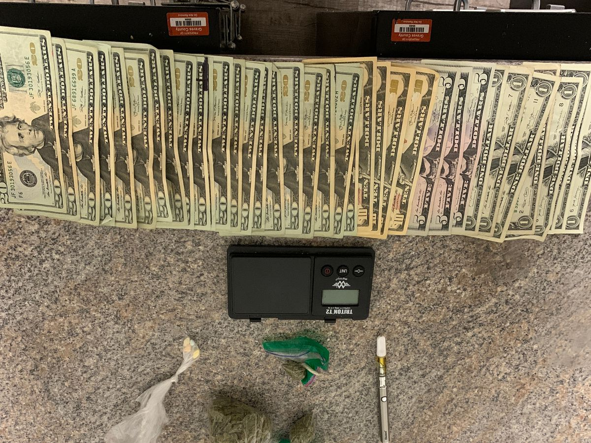Traffic stop leads to drug arrest in Graves Co.