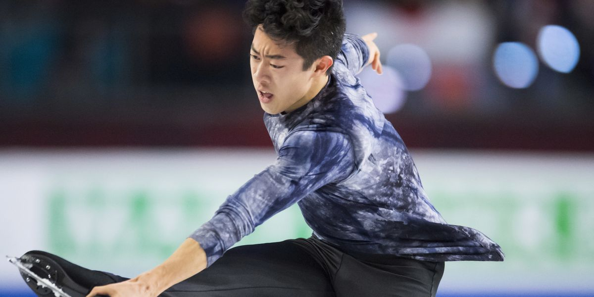 Chen overcomes mistakes, takes 1st at Grand Prix Finals