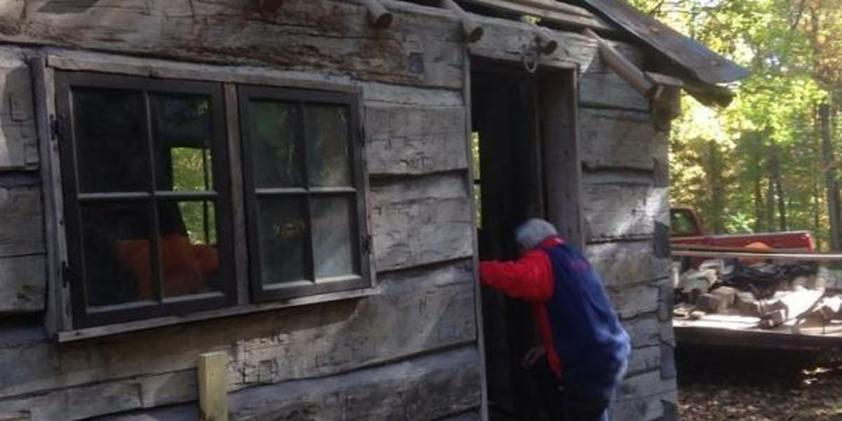 Historic Cape log cabin moved across town
