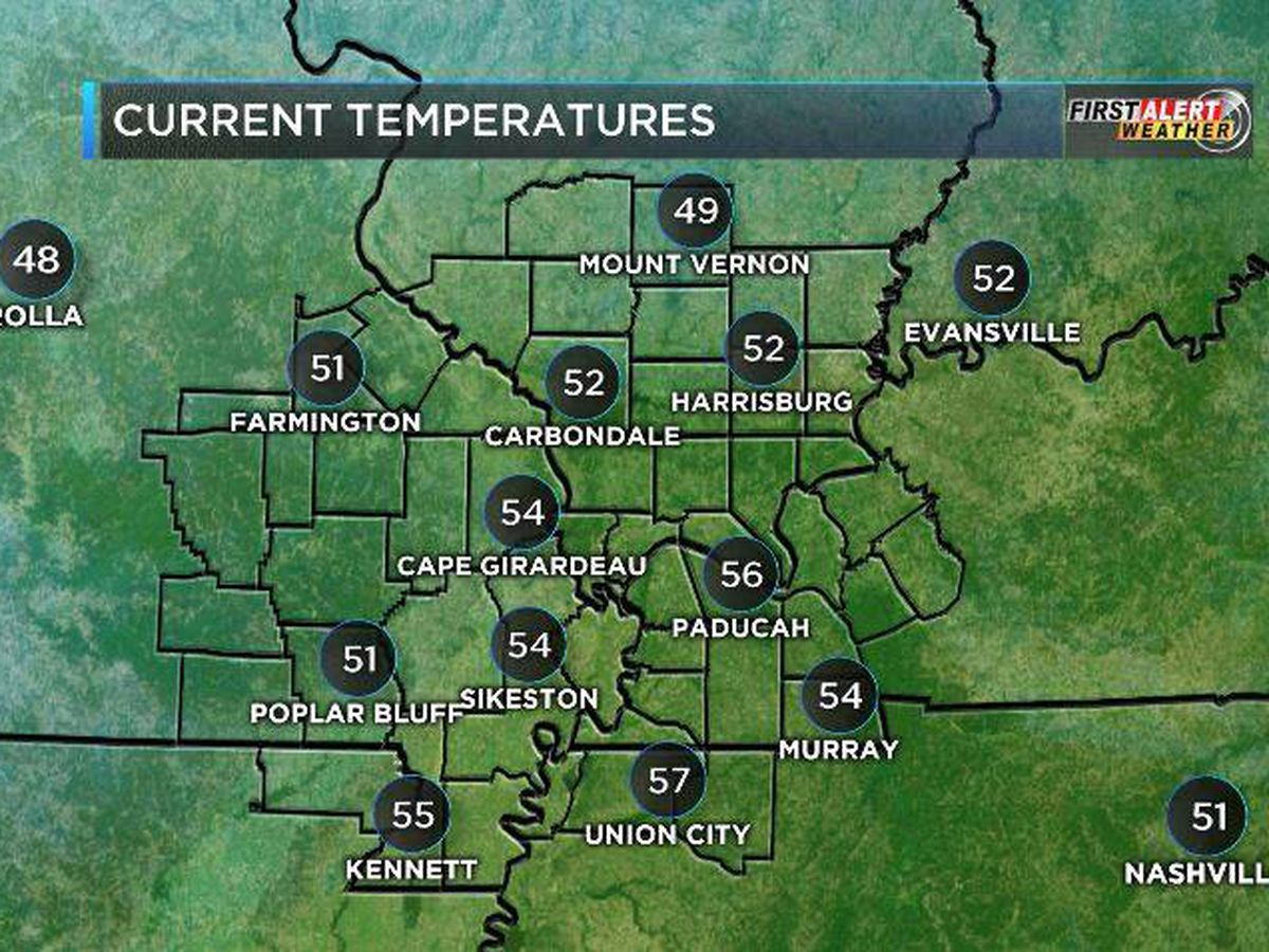 First Alert: Cloudy, windy start to the week