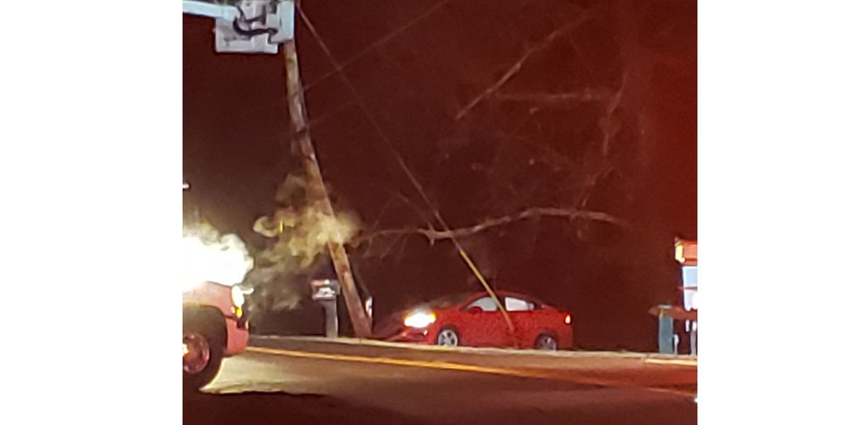 Teen injured after driver falls asleep, hits mailbox and utility pole