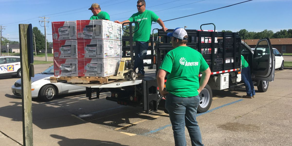 Ameren donates air conditioners for those in need