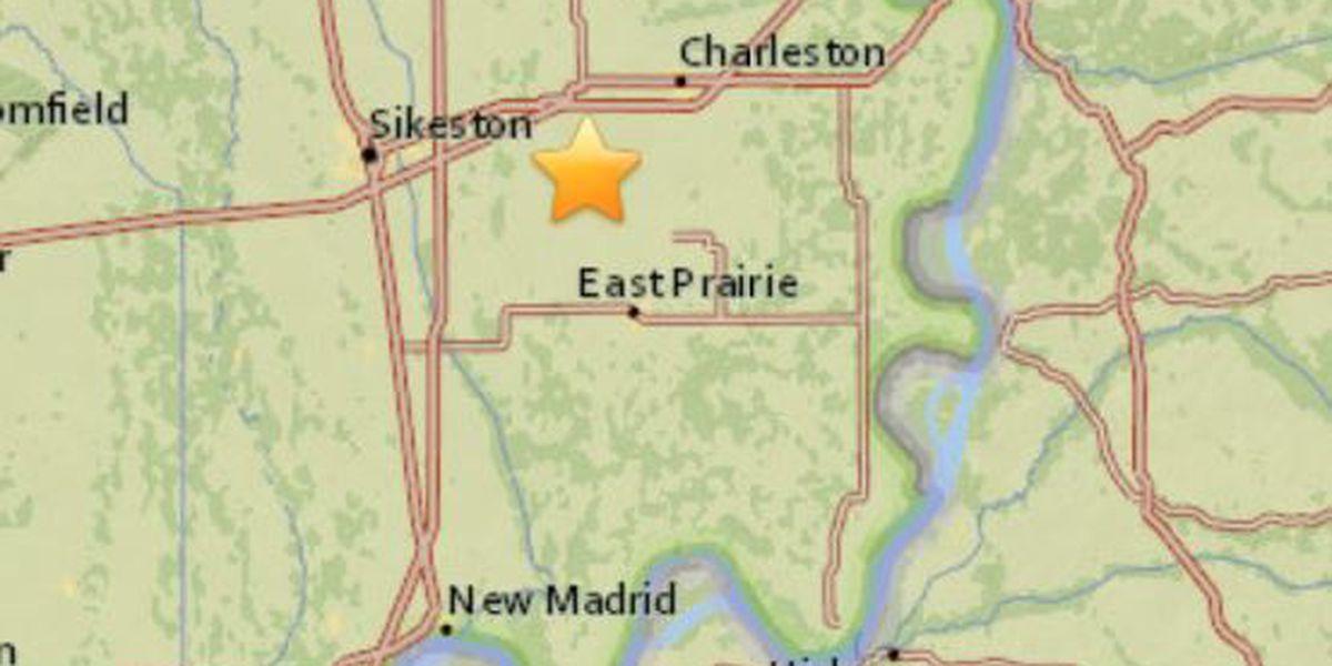 2.0 magnitude quake hits southeast Missouri