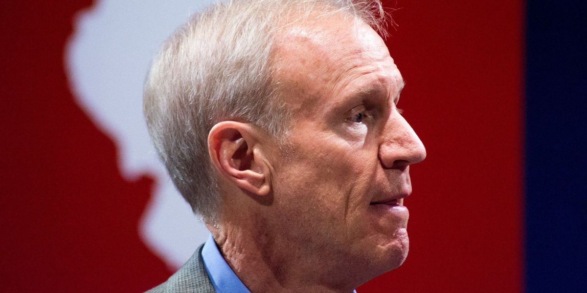 Gov. Rauner delivers report to IL General Assembly