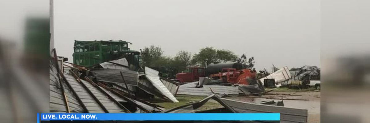 Sunday storms leave thousands without power, widespread damage
