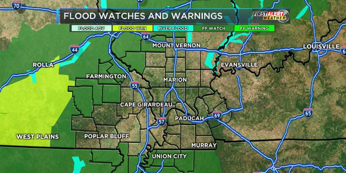 First Alert: Rain to move south throughout the day