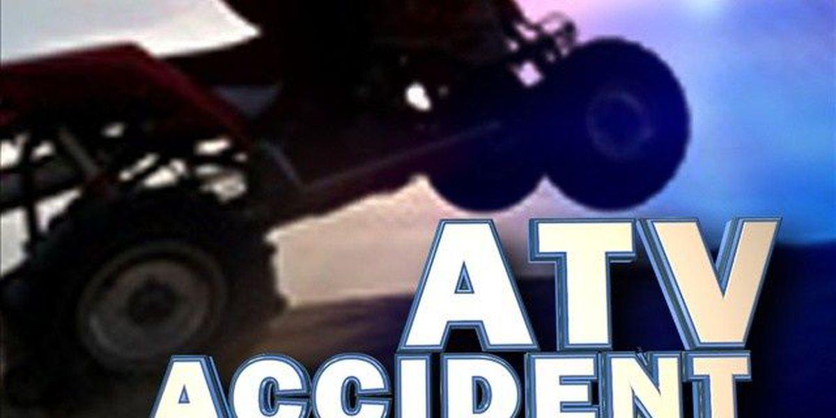 1 injured after ATV crash in Saline County
