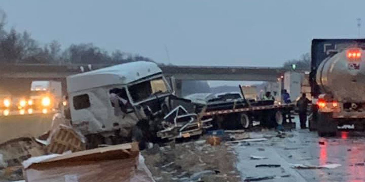 I-57 north of Mt. Vernon now open after multi-vehicle crash