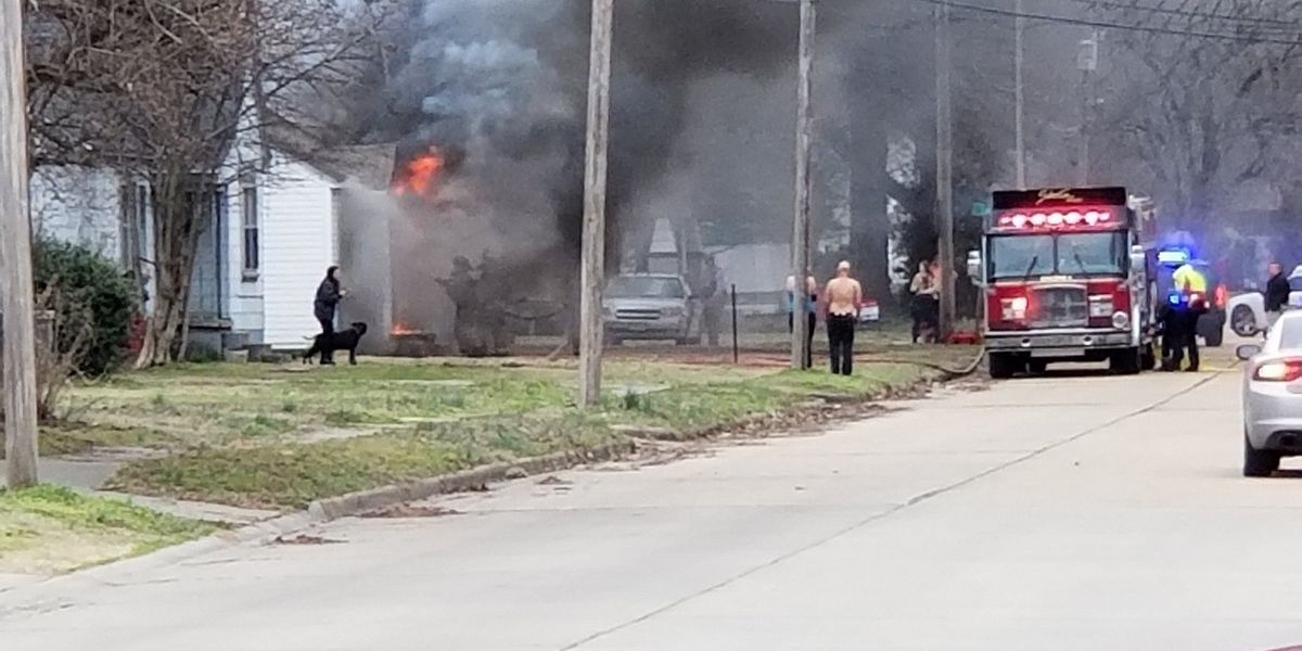 DPS called to Moore Ave. house fire in Sikeston