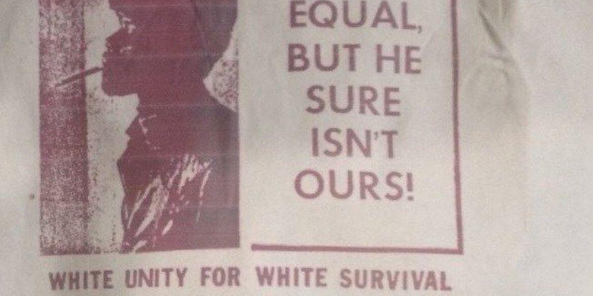Mayfield residents find KKK flyers in driveways