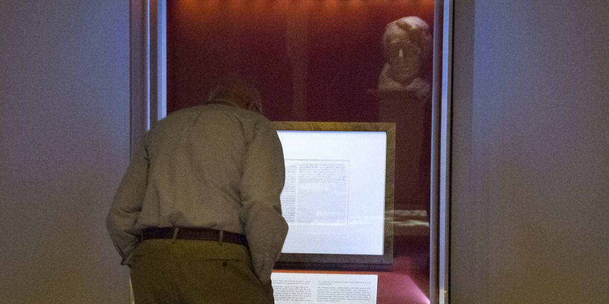 Handwritten Gettysburg Address to be displayed at Lincoln Presidential Library