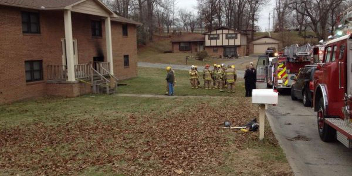 Woman died of carbon monoxide poisoning in Jackson apartment fire