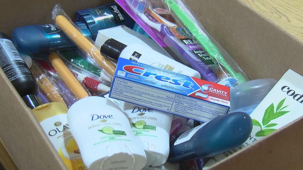 Bell City High School helps kids with hygiene supplies