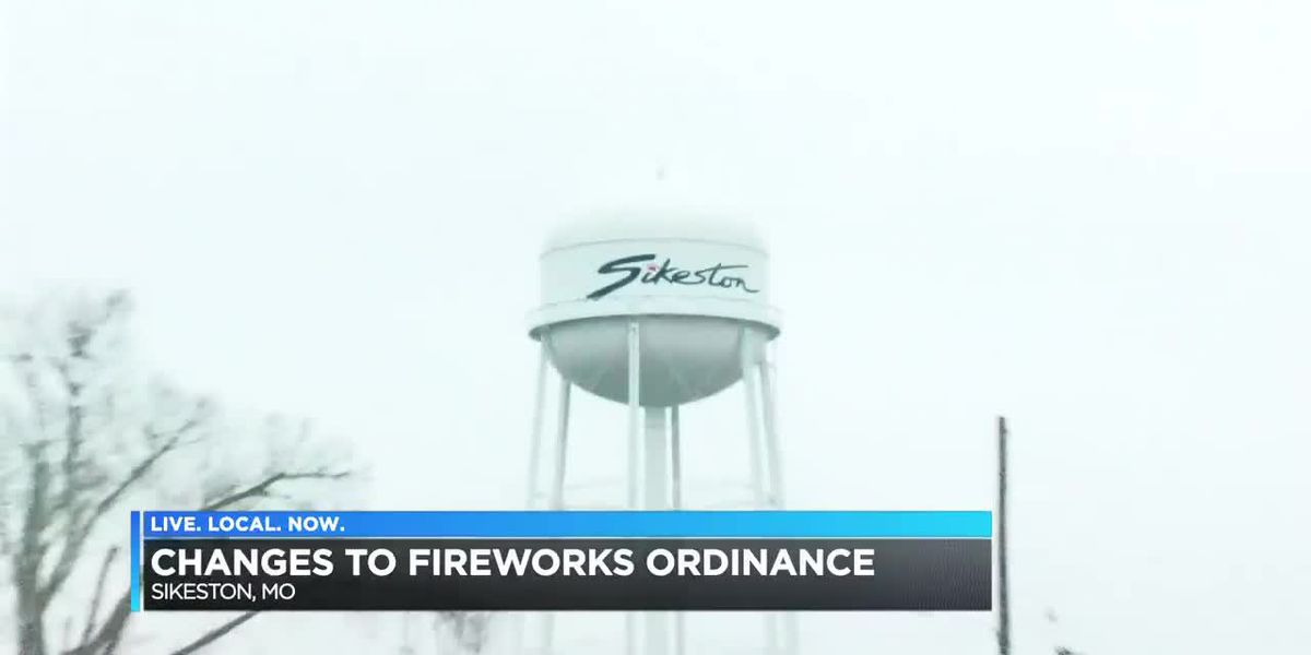 City of Sikeston changes rules for fireworks