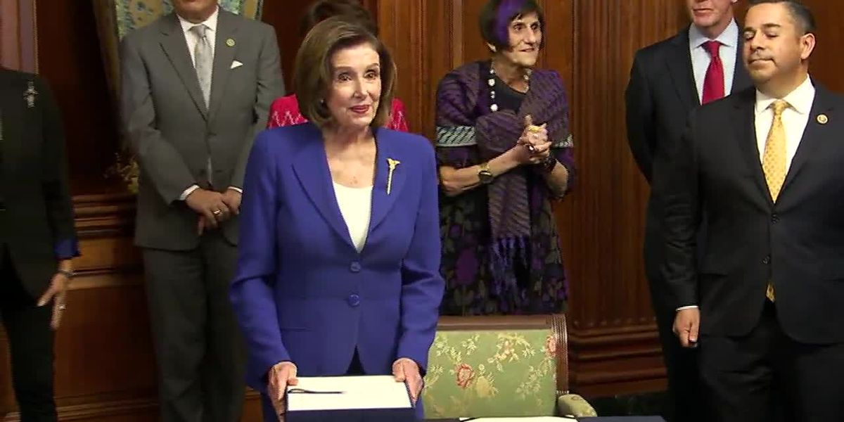 Pelosi: Voting by mail is healthier during coronavirus