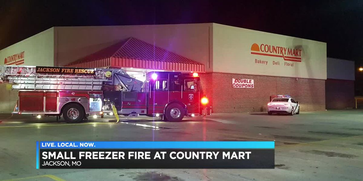 Small fire at Country Mart in Jackson, MO