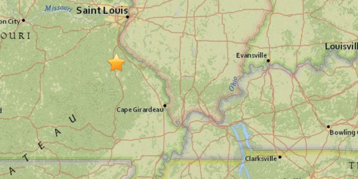 Did you feel it? 2.5 magnitude earthquake rattles part of southeast MO