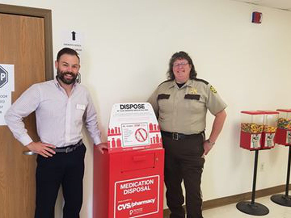 Prescription drug drop-off box installed in Madison Co., Mo.