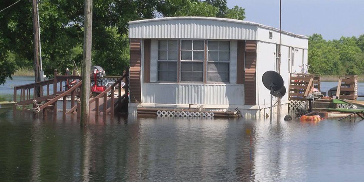 Alexander County couple forced out of home by flooding again