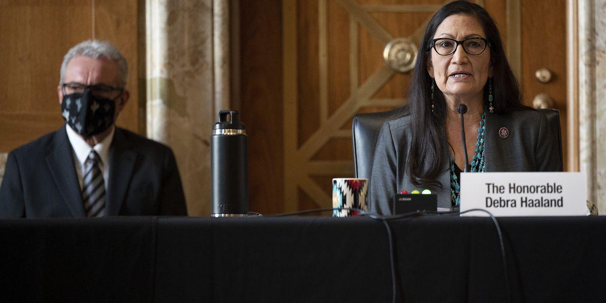 Senate energy panel backs Haaland for interior secretary