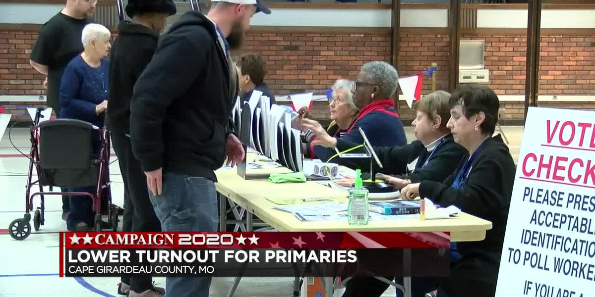 Voter turnout and reaction for the Mo. primary