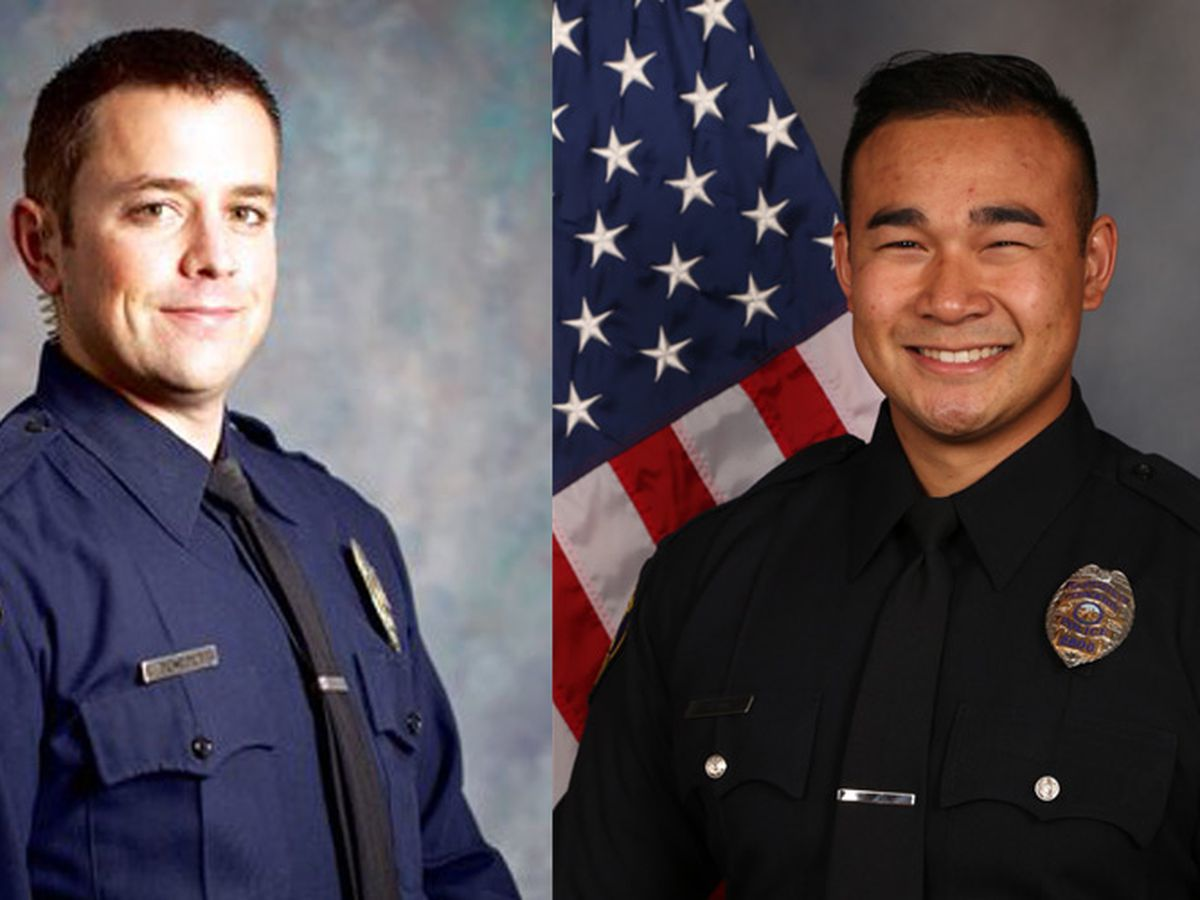 2 California police officers fatally shot within 24 hours