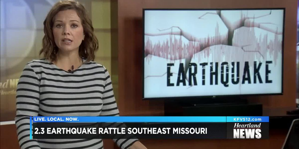 Small 2.3M earthquake hits in MO