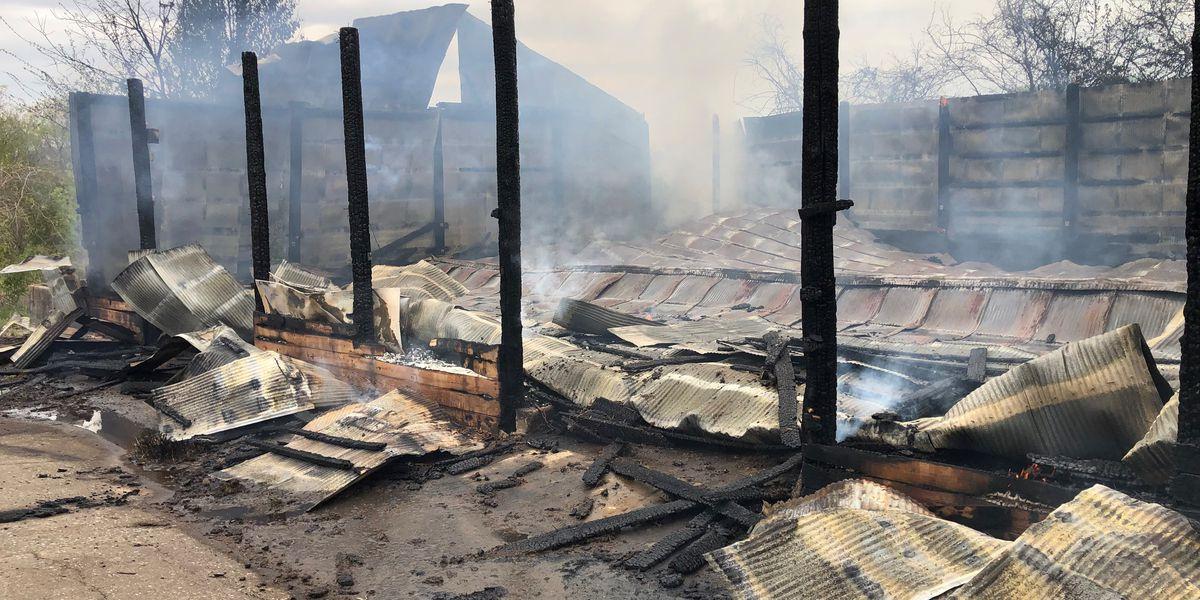 Barn fire in Cape Girardeau, Mo. considered suspicious