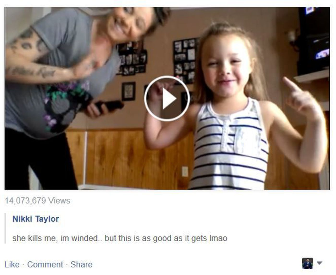 Viral video: Pregnant mother, young daughter dancing 'Whip/Nae Nae'