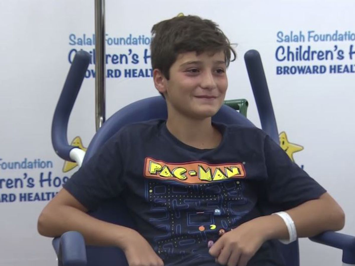 Boy, 11, bitten in foot by shark while swimming at Florida beach