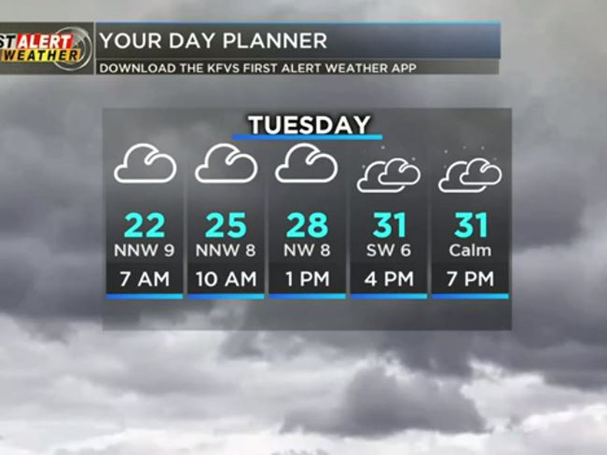 First Alert: Cold afternoon, even colder tonight