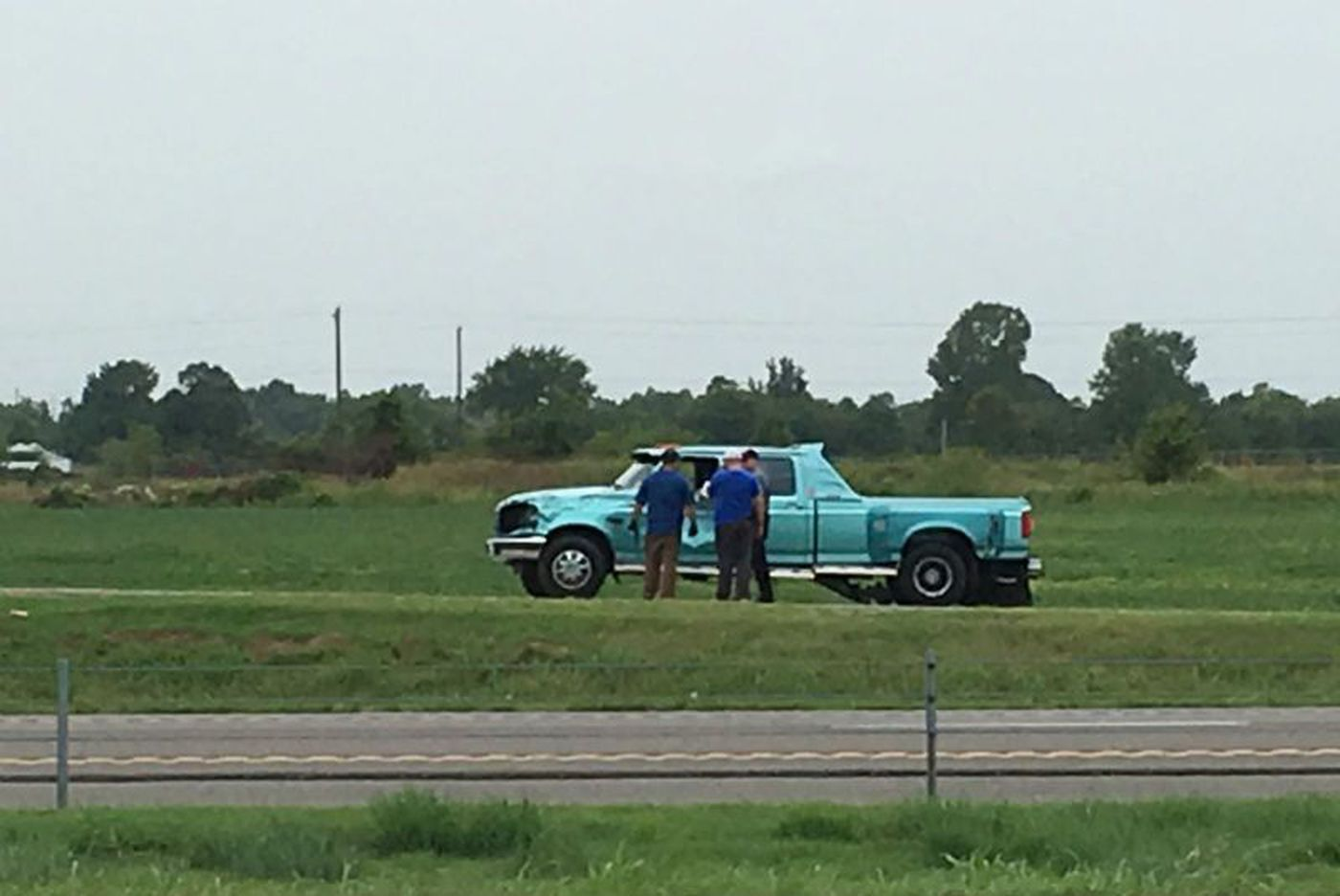 Man arrested for driving stolen truck after chase started in
